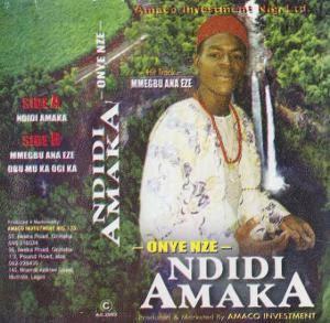 Richard Onyenze Nwa Amobi - Mmegbu Ana Eze (Mmegbuaneze) | Onyenze Songs
