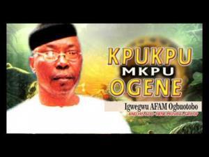 Igwegwu Afam Ogbuotobo - Kpukpu Mkpu Ogene | Nigerian Highlife Music