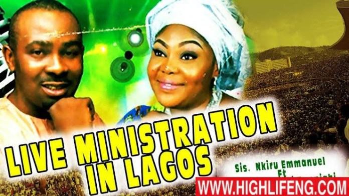 Sis. Nkiru Emmanuel ft. Evang Nnamdi Ewenighi - Live Ministration in Lagos | Latest Nigerian Gospel Songs 2020