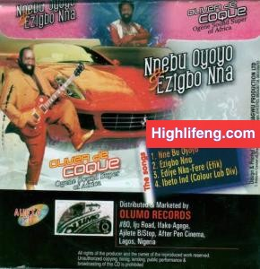 Oliver De Coque - Nne Bu Oyoyo (Ezigbo Nna) | Old Igbo1983 HighLife Songs