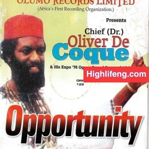 Chief Oliver De Coque - Opportunity