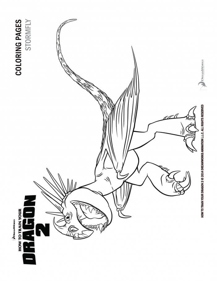How to Train Your Dragon 2 coloring pages and activity sheets