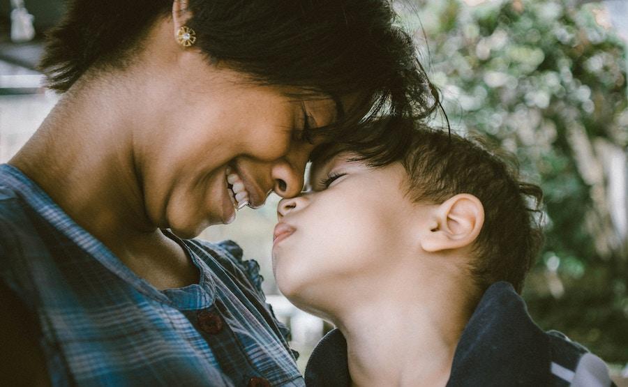 An HSP parent with their child