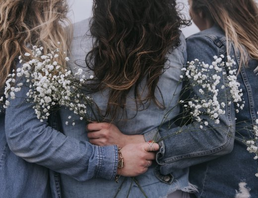 a highly sensitive person (HSP) and her friends