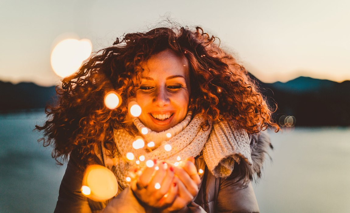 A woman embraces being a highly sensitive person
