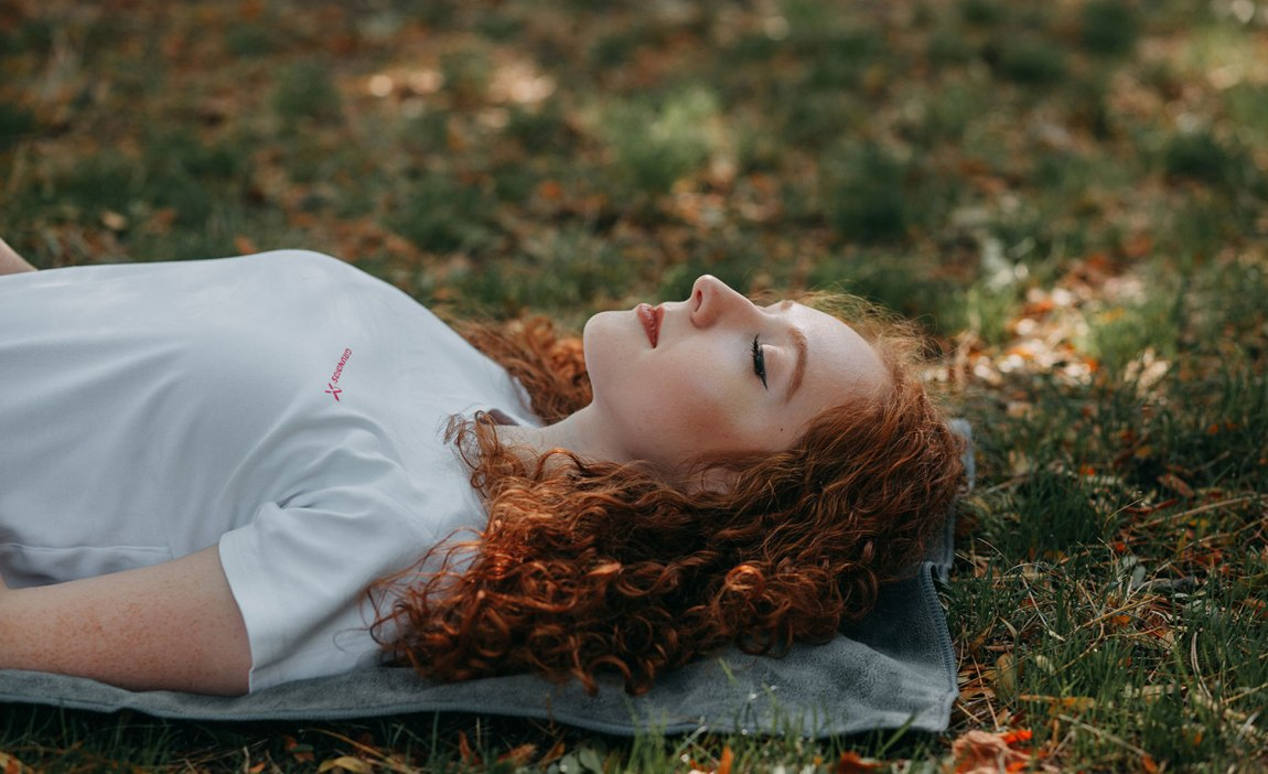 A highly sensitive person's brain at rest