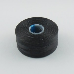 c-lon-beading-thread-black-aa-finer-version