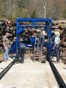 Lots of wood - High Mountain Millwork Company, Franklin NC - #209