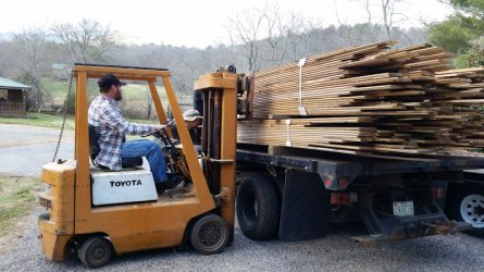 Lots of wood - High Mountain Millwork Company, Franklin NC - #546