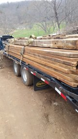 Lots of wood - High Mountain Millwork Company, Franklin NC - #1022