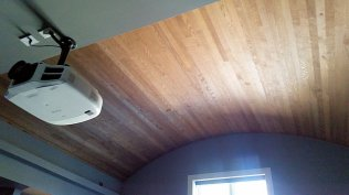 Custom Ceiling by High Mountain Millwork Company - Franklin, NC #047