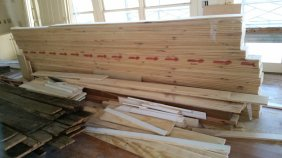 Custom Wood Paneling by High Mountain Millwork Company - Franklin, NC #250