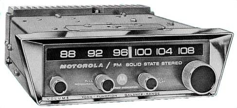 motorola company car radio