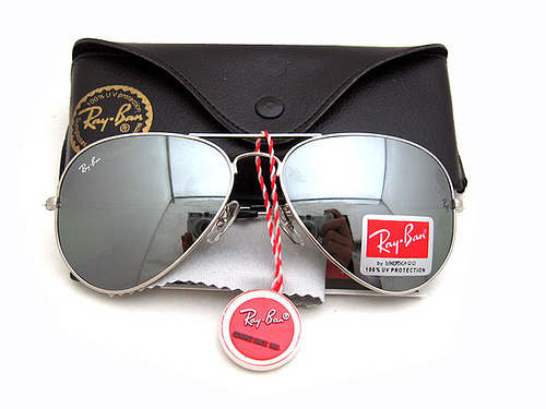 What is the name origin of the Ray-Ban brand?