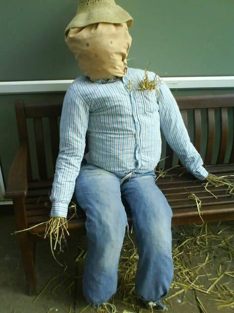 scarecrow/straw man
