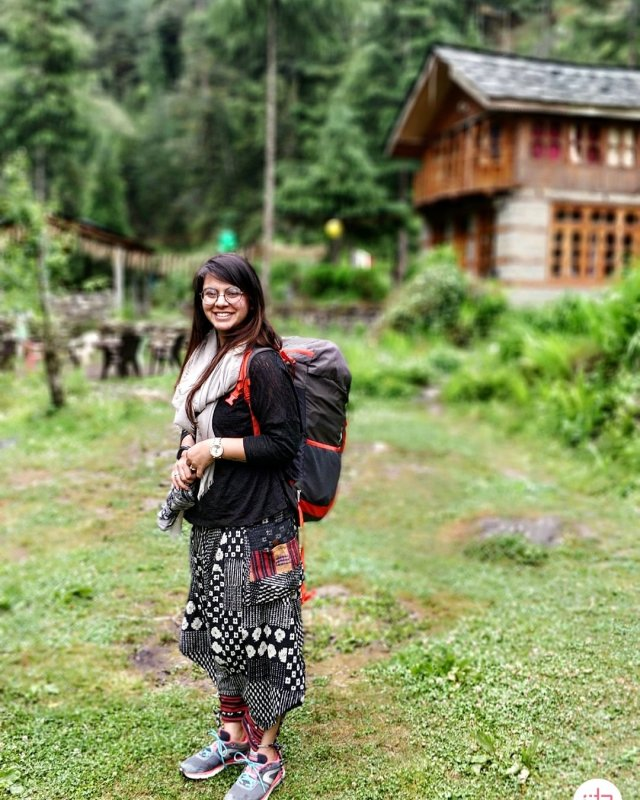 Surbhi Sabharwal High on Himalayas Women Travellers Tribe