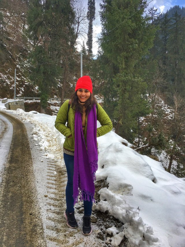 Diksha Tripathi High on Himalayas Women Travellers Tribe
