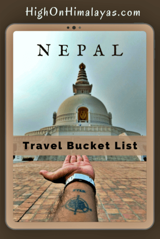 Travel Bucket List - Nepal | High on Himalayas