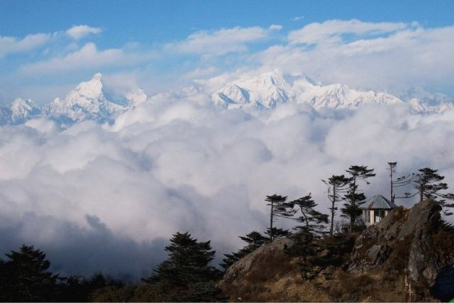 Himalayan Ranges as viewed from Darap