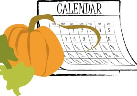Youth Activities Calendar for October