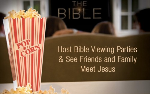 host a bible miniseries viewing party