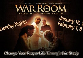 War Room Bible Study on Wednesdays