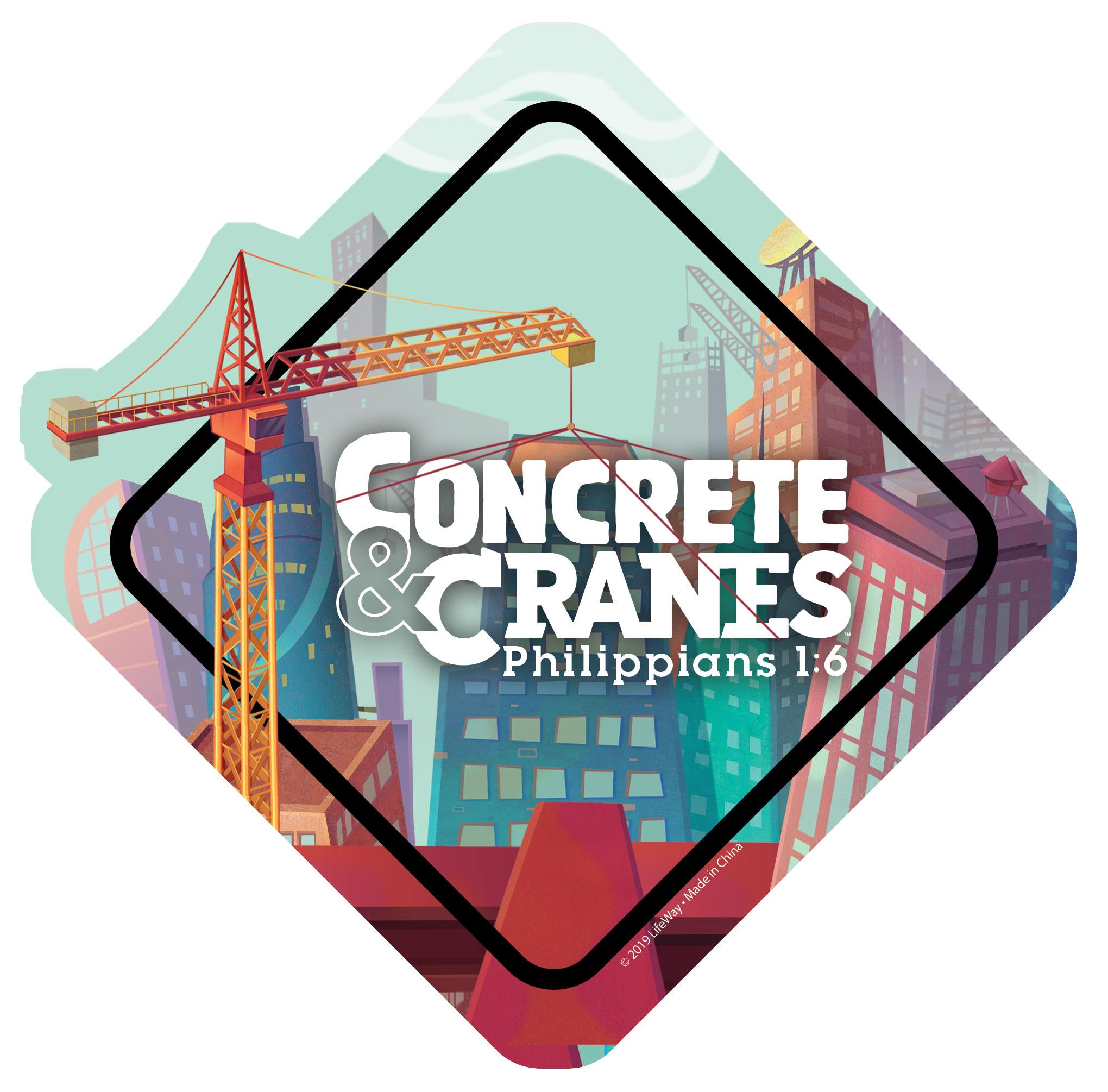 vacation bible school 2021 concretes and cranes