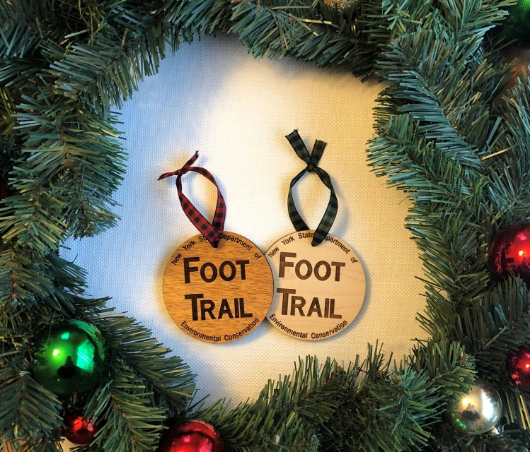 Adirondack Foot Trail Ornament