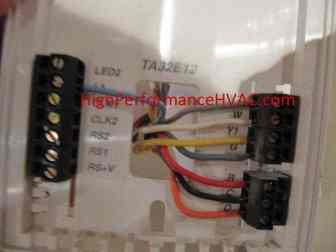 How to Wire a Thermostat [Wiring Installation Instructions ... Only Black And White Wire Honeywell Rth Wiring on