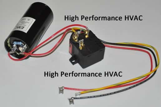 single phase motor wiring diagram with capacitor start run 3 u v w capacitors for hvac compressors assist
