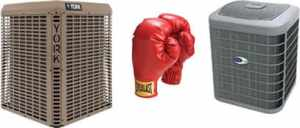 York Versus Carrier Air Conditioners