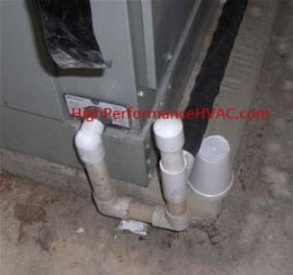 Air Handler Condensation Drain Leaking | HVAC Repair