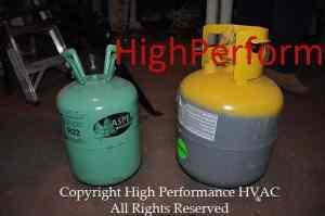 R-410A versus R-22 Refrigerants