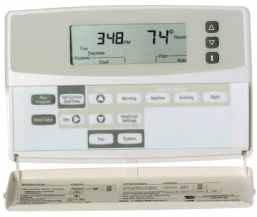Honeywell Chronotherm Plus Thermostat - Trane XL19i Condenser