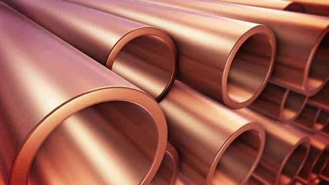 Refrigeration Copper Piping Installation High