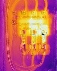 loose electrical connections flir photo