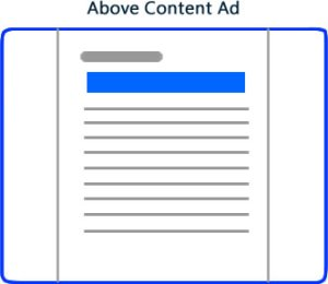 Above Content Ad