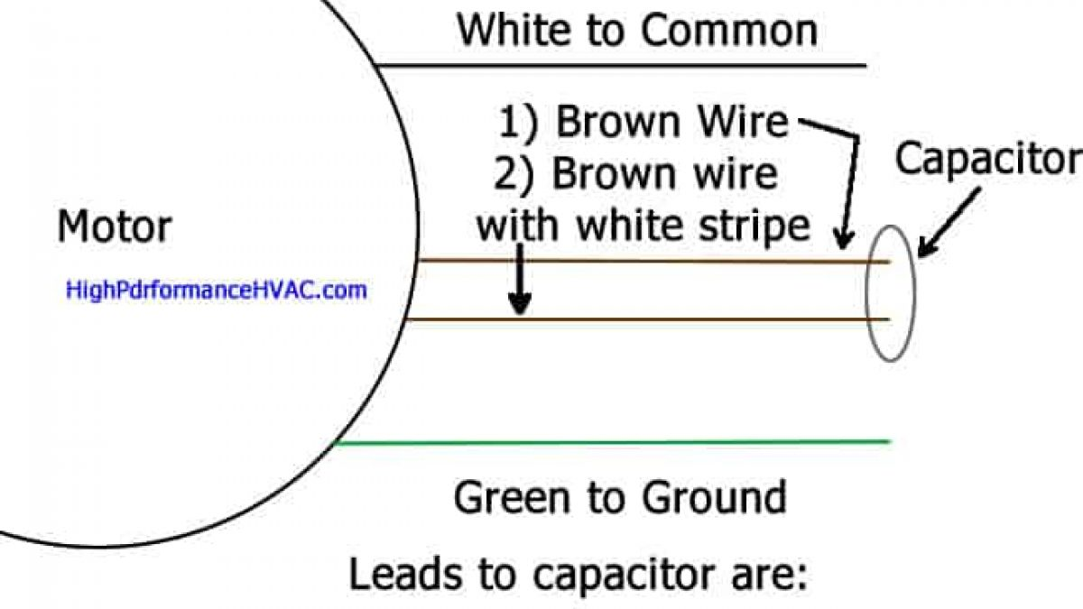 How To Hook Up A Capacitor On Ac Unit