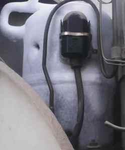 frozen compressor air conditioner