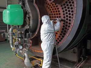 HVAC Safety Cleaning Boiler Tubes
