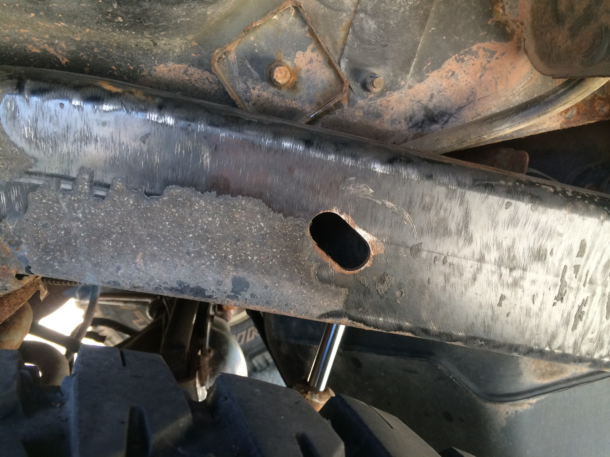 hight resolution of rust prevention wrangler frame