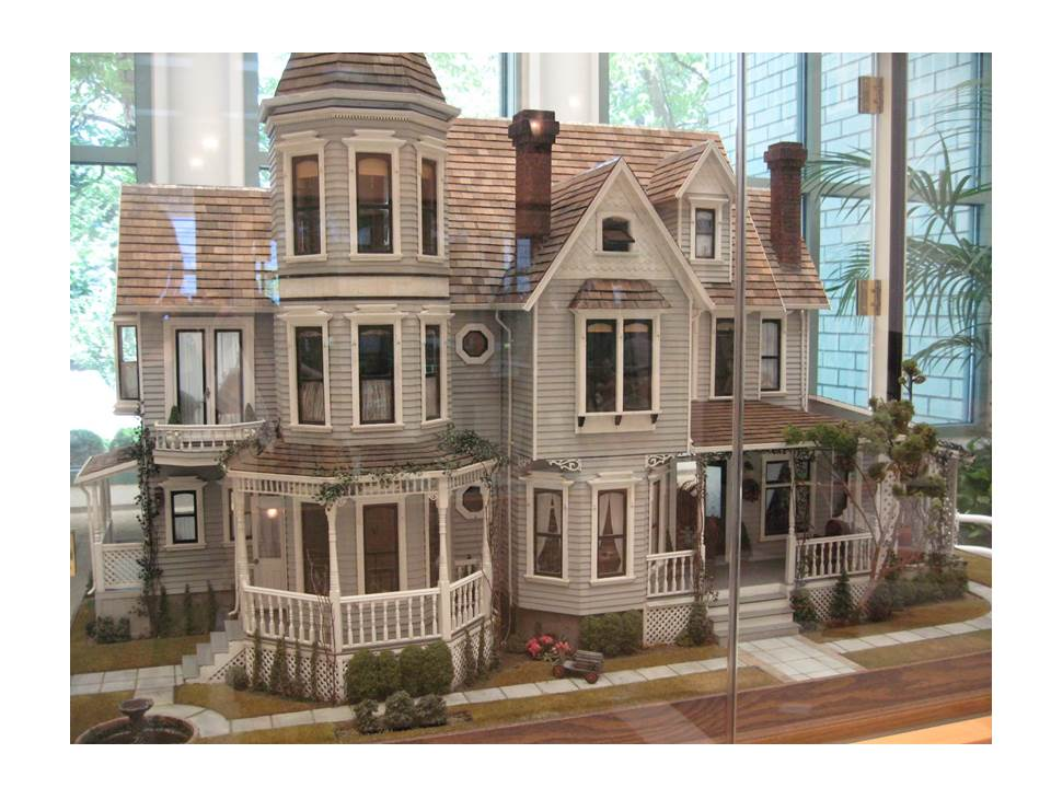 Dollhouse Exhibition And Toy: A Two-Story Toy Story: The Lives Of Dollhouses