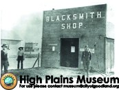 High Plains Museum | PM336BUILD William Rowe's blacksmith shop