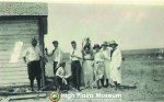 High Plains Museum | PM143PEO Group on the Beaver in 1919.