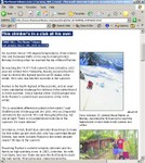 Article on Dave Johnston Completing All 50 States in Winter
