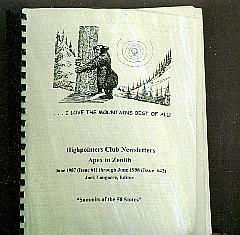 Bound Compendium of Apex to Zenith Newsletters 1987-1998