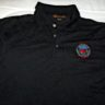 Polo Shirt – Black with small Club logo on Front
