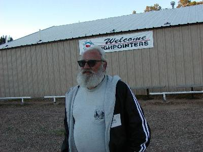 County Highpointer Bill Schuler during the Highpointers 2002 Convention at Black Mesa, Oklahoma