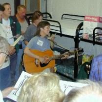 Diane Winger and George Vandersluis Singing at Jack Longacre's Bedside