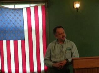 Alan Ritter at Jack Longacre Memorial